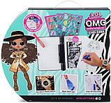 Набор модный журнал ЛОЛ с тайным дневником и часами L. O. L. Surprise O. M. G. Fashion Journal Оригинал из США, фото 6