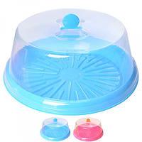 Тортівниця пластикова з кришкою (31*12 см) N02083 (72шт)