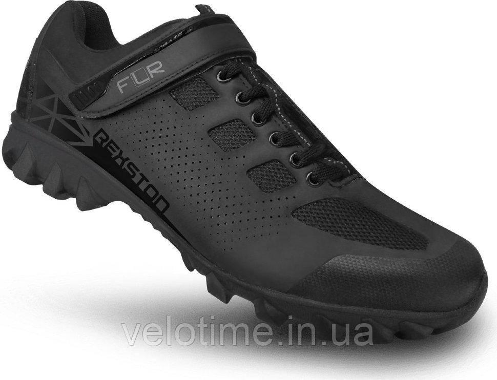 Велосипедные туфли фитнес FLR Rexston  (47р., черный)