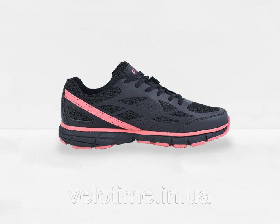 Велосипедные туфли фитнес FLR Energy  (40р.,черный-светло розовый)