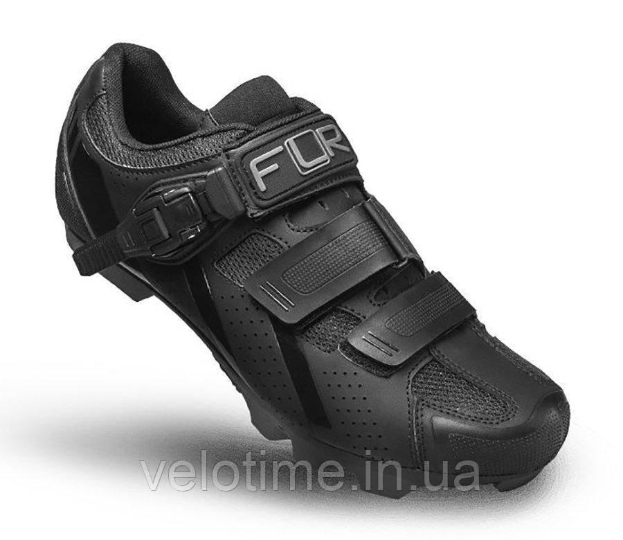 Велосипедные туфли МТБ FLR F-65  (49р., черный)