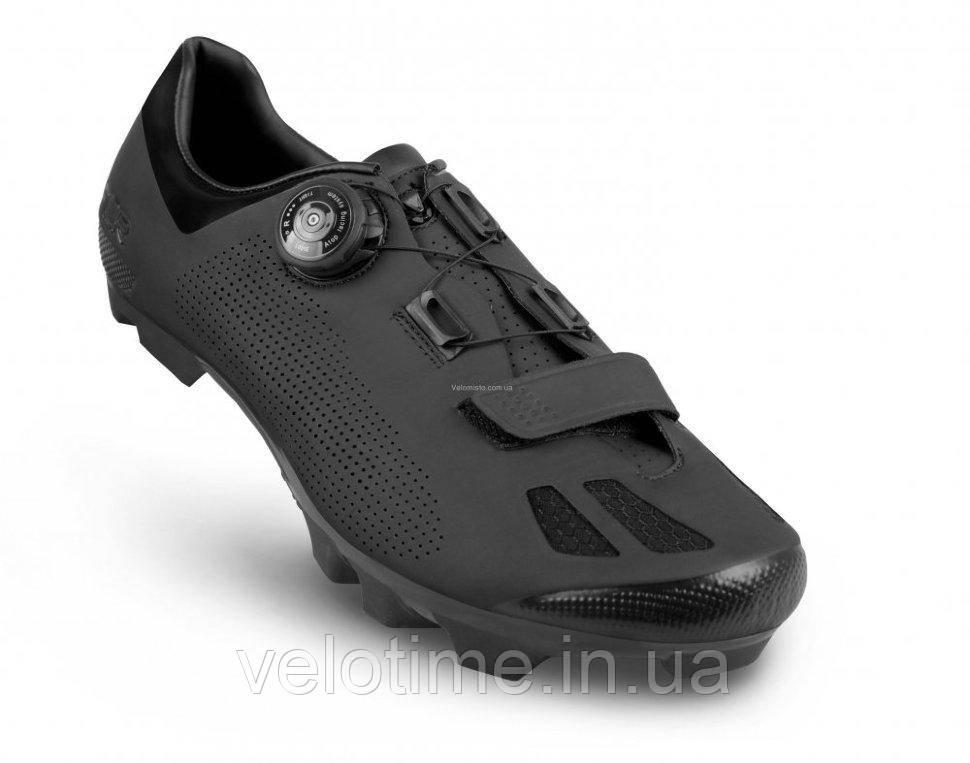 Велосипедные туфли МТБ FLR F-70  (43р., черный)