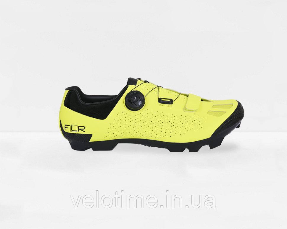 Велосипедные туфли МТБ FLR F-70  (41р., желтый)