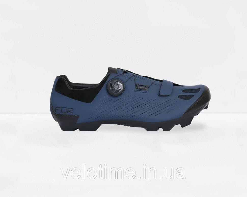 Велосипедные туфли МТБ FLR F-70  (45р., синий)