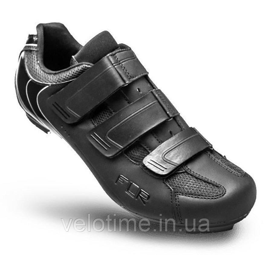 Велосипедные туфли шоссе FLR F-35  (38р., черный)