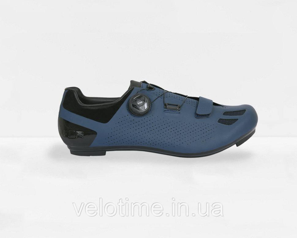 Велосипедные туфли шоссе FLR F-11 (43р., синий)