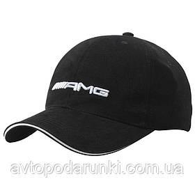 Кепка AMG черная, бейсболка с лотипом авто  Мерседес - AMG
