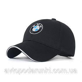 Кепка BMW черная, бейсболка с лотипом авто  БМВ