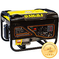 Генератор бензиновый 2.5/2.8кВт 4-х тактный ручной запуск Pro-S SIGMA (5710521)