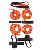 Набор для тренировок LiveUp Striker Training System Black-Orange (LS3666)