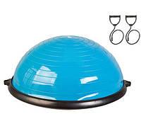 Балансировочная полусфера LiveUp Bosu Ball 58 см Blue (LS3570)