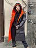Двусторонний пуховик Black&Orange, фото 2
