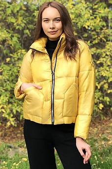 Куртка женская желтая AAA 123601S