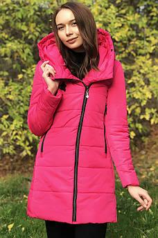 Куртка женская зимняя розовая размер S 125031S