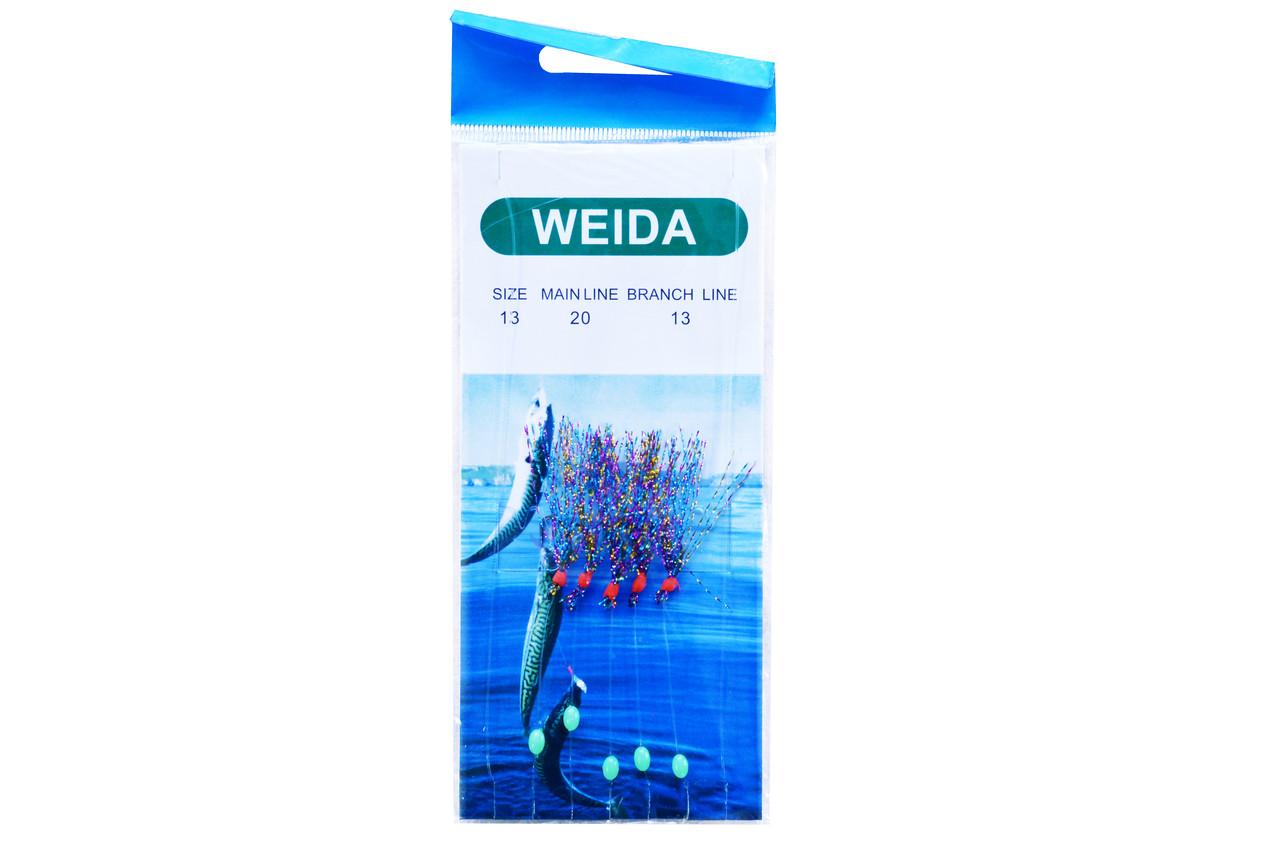 Спиннинговая оснастка Kaida (самодур) 10/0.40/0.30