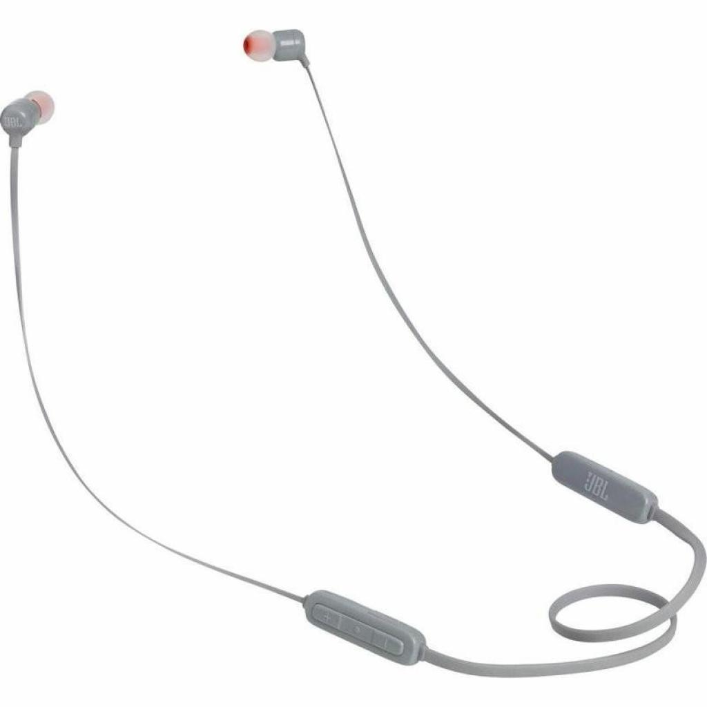 Навушники з мікрофоном JBL T110BT Grey (JBLT110BTGRY)