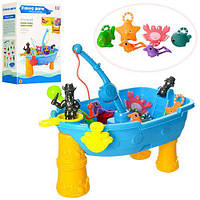 Детская игрушка столик рыбалка , захватывающия игра для детей 057A