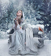 Алмазная вышивка мозаика Чарівний діамант Мольба КДИ-0540 55х50 см Художник Michael Parkes 20цв Квадратные