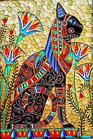 Алмазная вышивка мозаика Чарівний діамант Клеопатра КДИ-0712 45х30 см 23цв Квадратные стразы полная зашивка