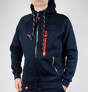Зимняя спортивная кофта Puma (Scuderia/2018D.B)