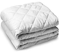 Теплое одеяло двуспальное 180*210 стеганое_силикон_бязь Голд (2891), фото 1
