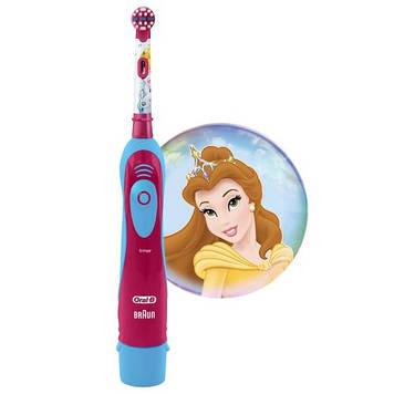 Детская зубная щетка на батарейках Braun Oral-B Stages Power DB4 Princess Принцессы (01236-1)