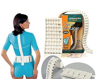 Массажер для спины и позвоночника Космодиск Kosmodisk Spine Massager Classic KOSM-D-66-4