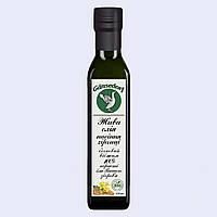 Горчичное живое масло свежевыжатое органическое первого холодного бочкового отжима Gansedorf 250 мл.