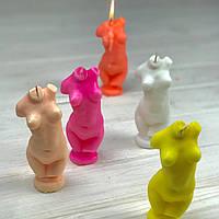 Свеча декоративная бюст женщины ароматизированная с запахом ароматом / свічка декоративна ароматизована фігура