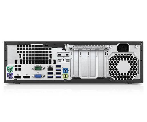 Системный блок HP EliteDesk 800 G1 SFF-Intel Core-i5-4570-3,2GHz-4Gb-DDR3-SSD-120Gb-DVD-R- Б/У, фото 2