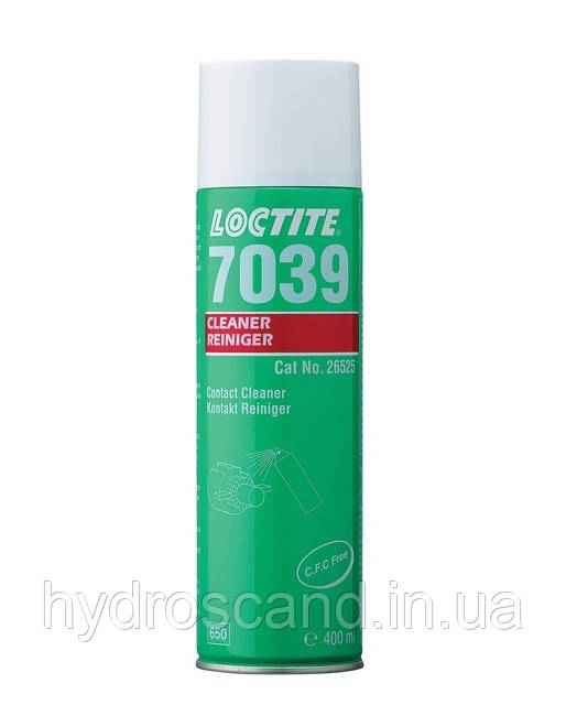Loctite 7039 (Локтайт 7039)  — aэрозоль для очистки контактов, 400 мл
