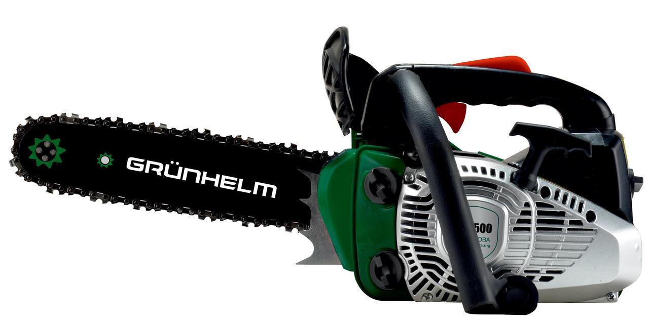 Бензопила цепная Grunhelm GS-2500 (2,0кВт, 4,0кг)