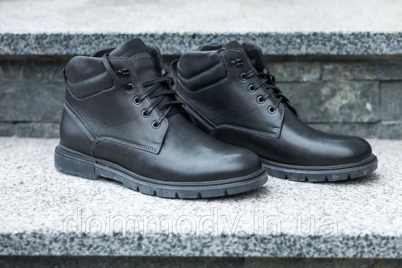 Ботинки мужские черного цвета Brady зимние