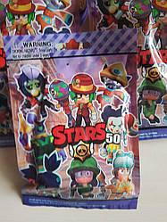 Игрушка сюрприз из игры Brawl Stars. Фигурка героя Бравл Старс 50 сезон PS