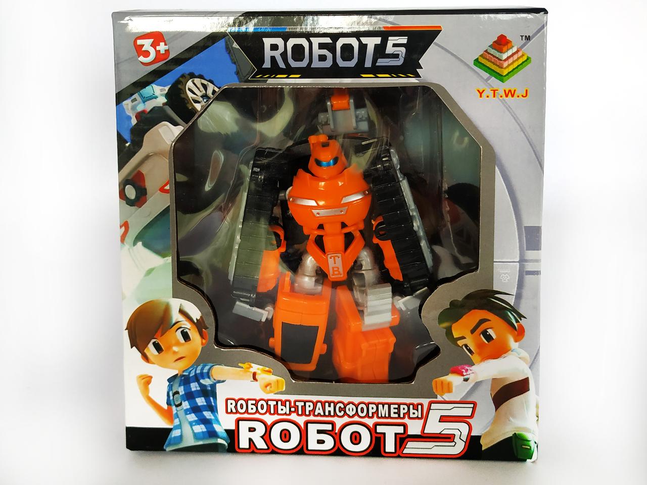 Робот трансформер Тобот Атлон | Tobot Атлон Рокки (12см)