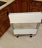 Стол сервировочный складной белый 84 х 68 x 40 см, фото 6