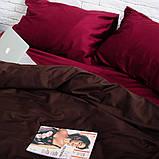 Комплект постельного белья из сатина Турция, постельное белье 100% хлопок Двуспальный, фото 4