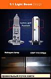 LED лампа H1 H3, УЗКИЙ ДИОД, ПРАВИЛЬНЫЙ ПУЧОК СВЕТА, (на ближний или дальний свет ), фото 2