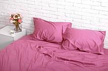 Комплект постельного белья из сатина Турция, постельное белье 100% хлопок розового цвета Евро