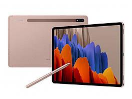 Планшет Samsung Galaxy Tab S7 T870 Wi-Fi 6/128Gb Mystic Bronze Qualcomm Snapdragon 865 Plus 8000 мАч