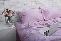 Комплект постельного белья из сатина Турция, постельное белье 100% хлопок лилового цвета