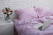 Комплект постельного белья из сатина Турция, постельное белье 100% хлопок лилового цвета Евро