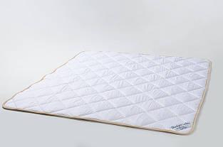 Одеяло из овечьей шерсти мериносов Goodnight - белое классическое 140х200