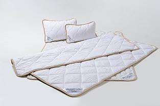 Комплект постельного белья из овечьей шерсти мериносов Goodnight - белый Классический Евро