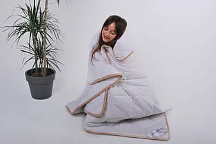 Одеяло из овечьей шерсти мериносов Goodnight Lite - белое классическое 140х200