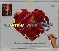 """Картина за номерами """"Балет"""" KpN-01-06"""