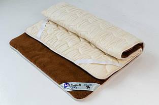 Наматрасник из верблюжьей шерсти HILZER CAMEL - с резинками по углам 120х200 см