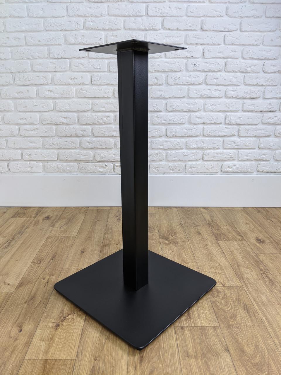 Металлические ножки для стола UNO опора в кафетерий, бар, ресторан со скругленными углами