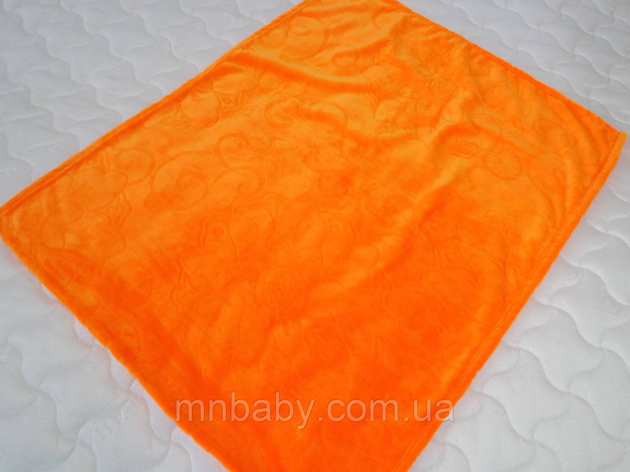 Плед микрофибра Оранж