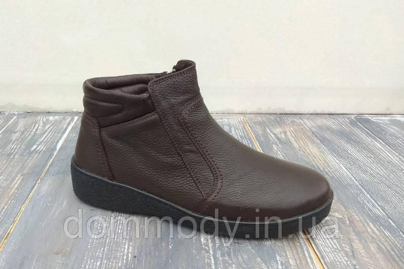 Ботинки мужские коричневого цвета Alaska зимние